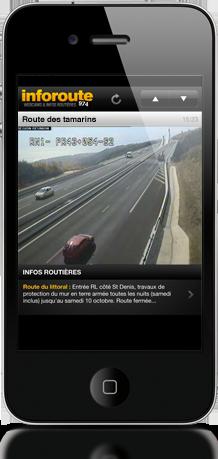 Inforoute Réunion iPhone